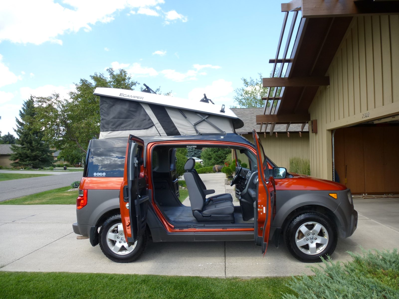 Honda Element Ecamper For Sale >> 2003 Honda Element Ecamper