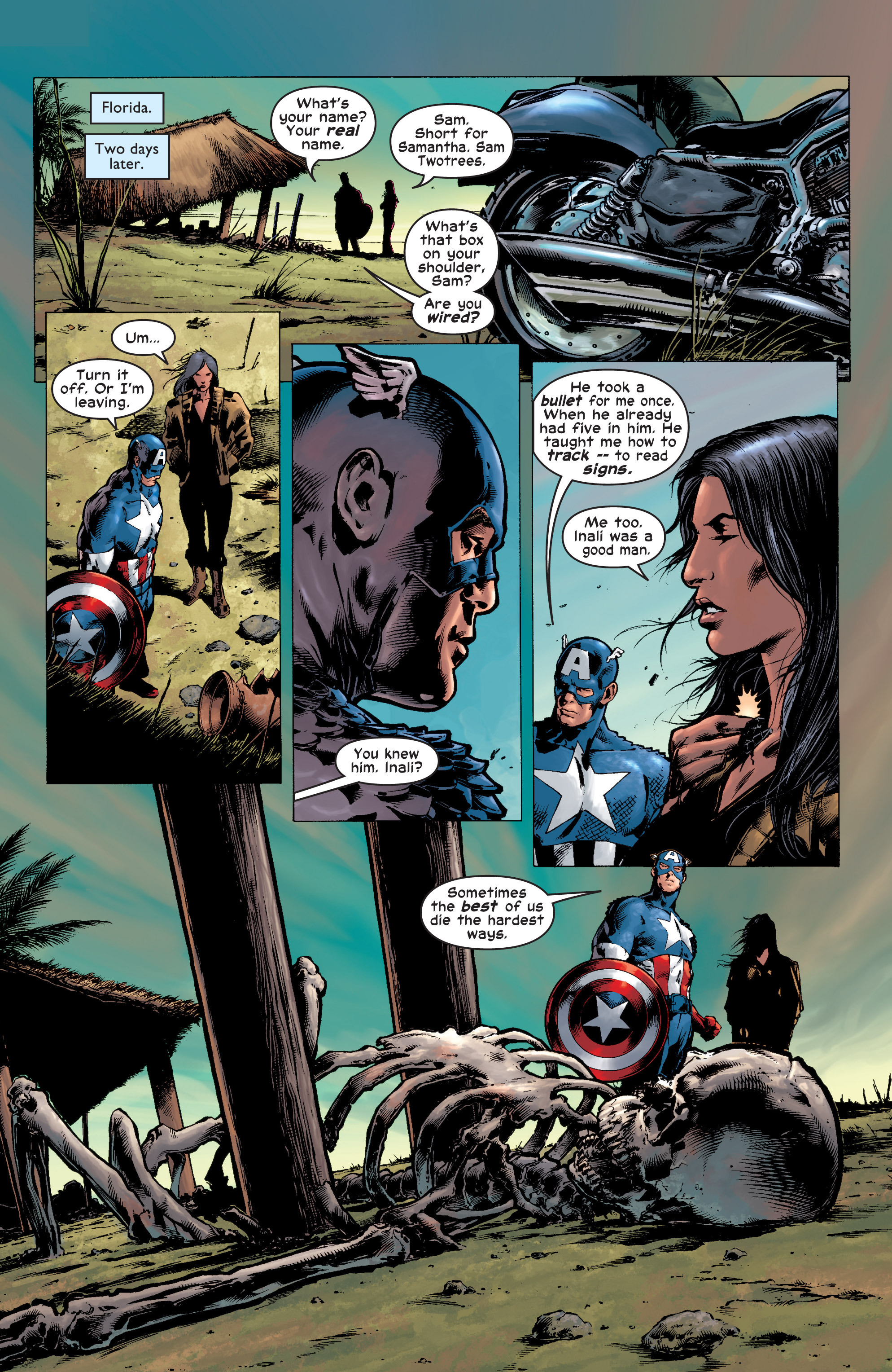 Captain America (2002) Issue #7 #8 - English 18