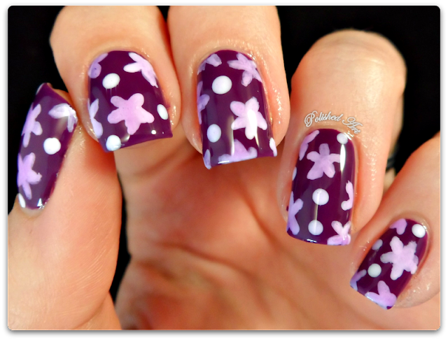 opi-sheer-tints-don't-violet-me-down-flowers-floral-pond-nail-art