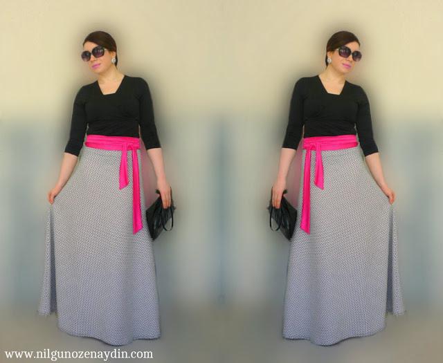 maksi etek-maxi skirt-maxi boy etek-maksi etek nasıl dikilir?