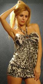 Vestido lycra Metalizado- Varios Modelos
