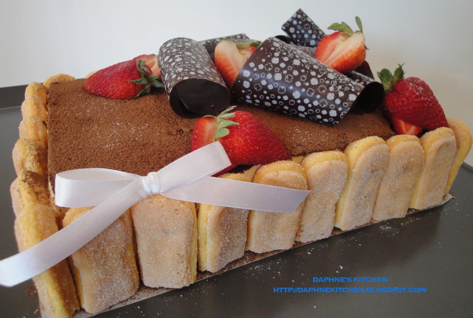 Daphne's Kitchen: Tiramisu Cake on