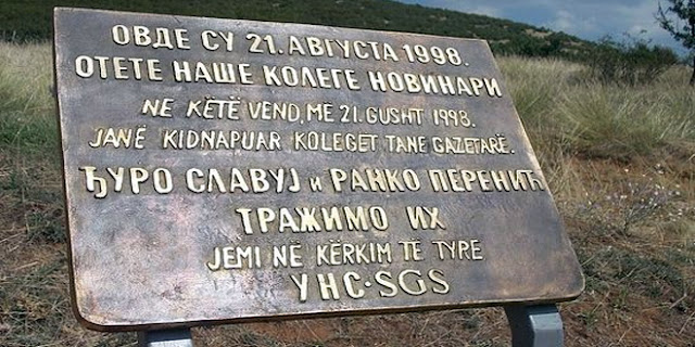 Годишњица отмице српских новинара код Ораховца