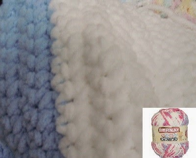 Crochet Baby Blanket Patterns Worsted Weight Yarn : Craftdrawer Crafts: Free easy to crochet baby blanket patterns