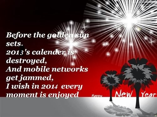 Romantic Happy New Year Love Text Messages 2014
