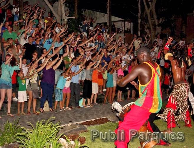 Danzas africanas en las noches de Bioparc Fuengirola