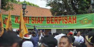 Dukungan Terhadap Keistimewaan Yogyakarta