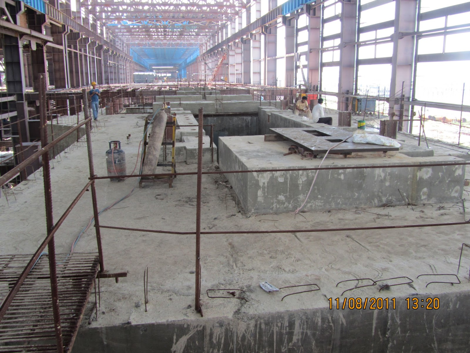 Abc of thermal power plant main civil work of thermal power plant - Intermediate floor casting ...