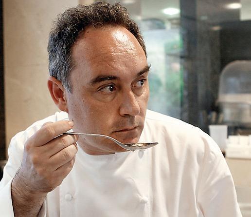 Que no se te queme el arroz el bulli magia disciplina for Ferran adria comida
