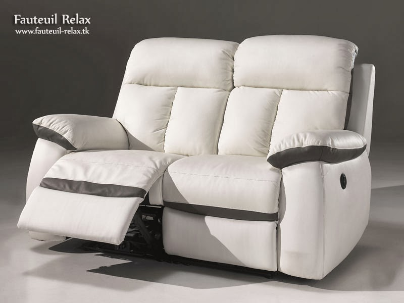 fauteuil relax lectrique cuir blanc fauteuil relax. Black Bedroom Furniture Sets. Home Design Ideas