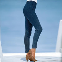 Colanti din denim stretch