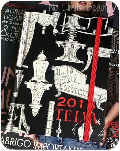 Regalos Revistas Enero 2016: Agenda Telva (fotos interior y detalles)