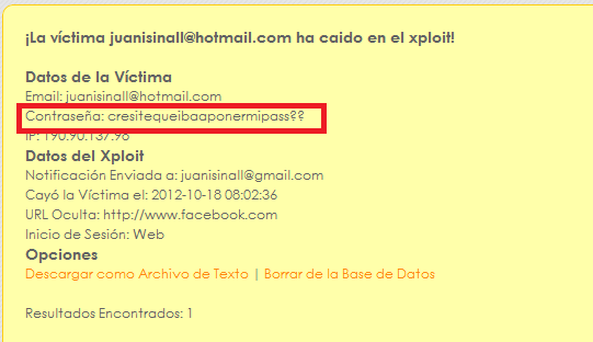 hackear password de correo: