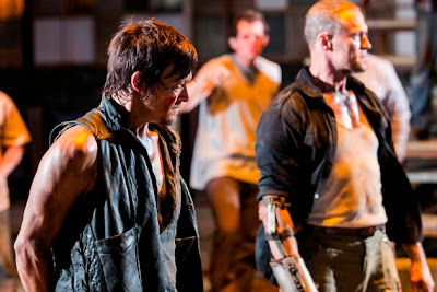 The Walking Dead S03E09. The Suicide King - Daryl & Merle Dixon