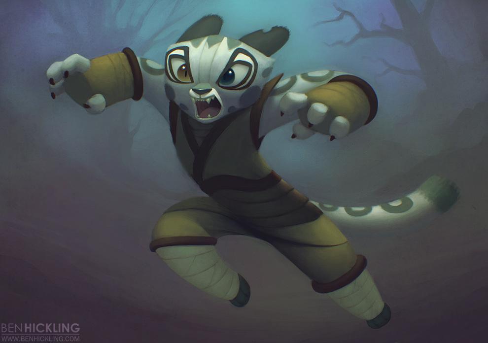 Wu sisters kung fu panda