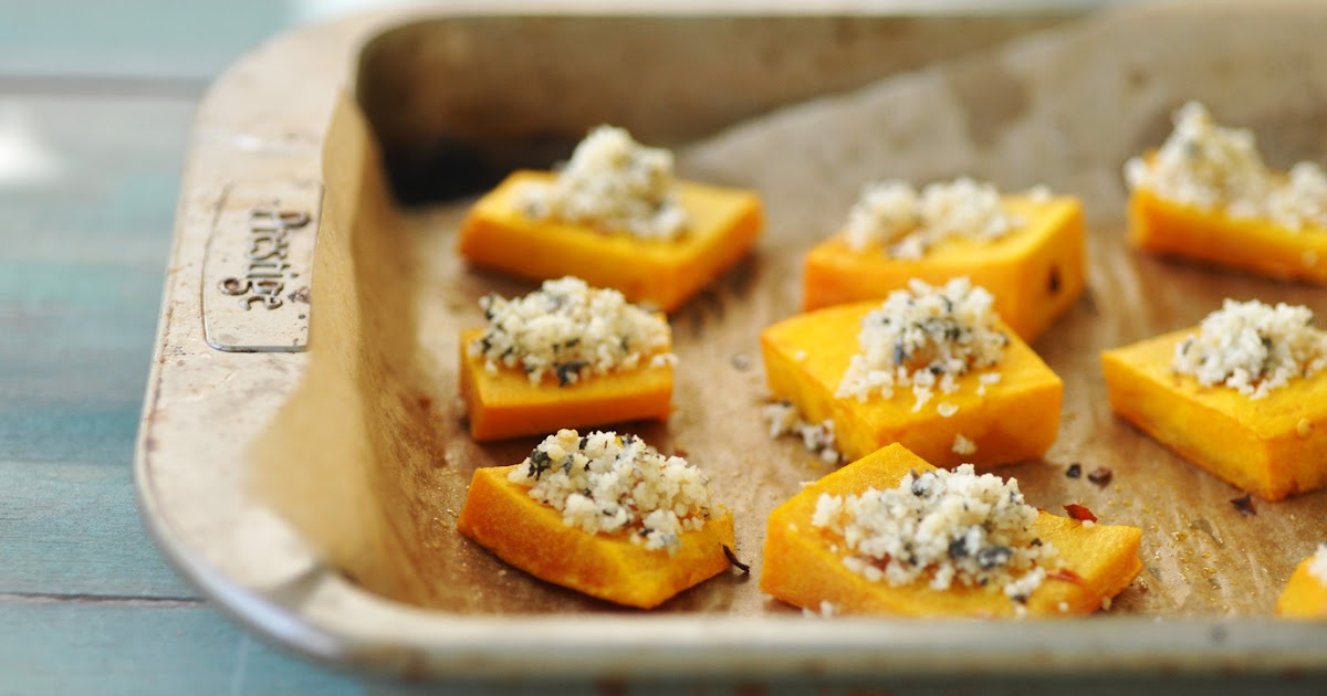 Anja's Food 4 Thought: Roasted Butternut Squash with Nut ...