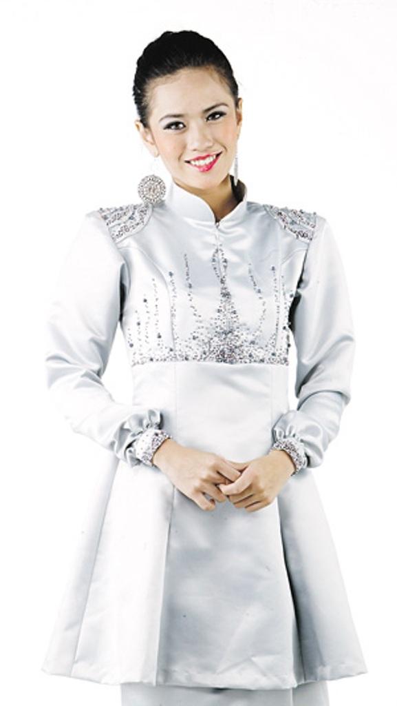 Fesyen baju raya 2012