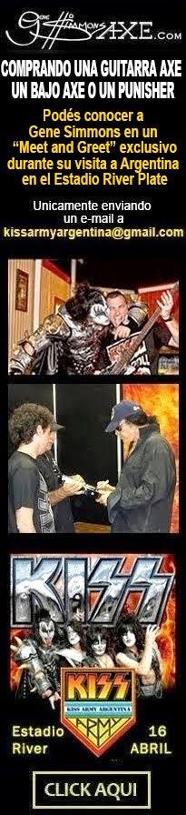 ¡Conocé a Gene Simmons en su visita a Argentina!