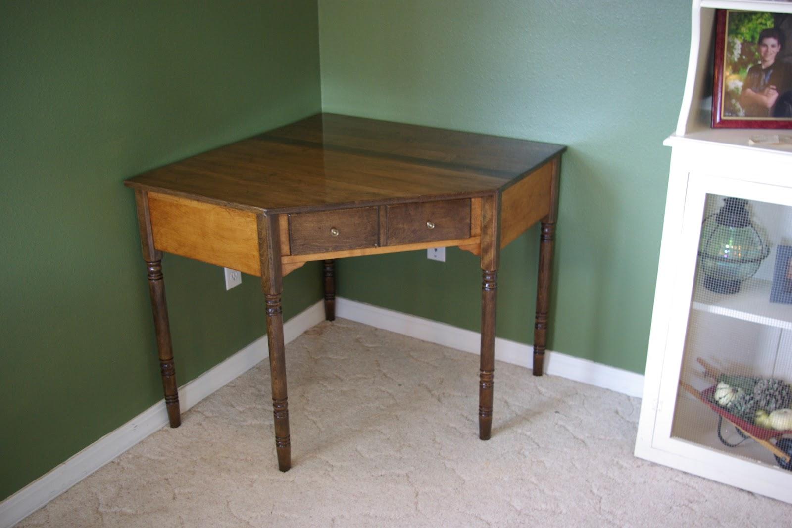 Reclaimed Rustics Ethan Allen Corner Desk
