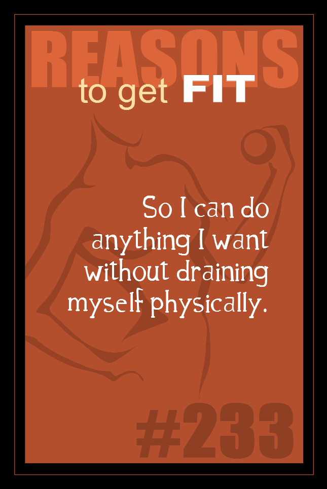 365 Reasons to Get Fit #233