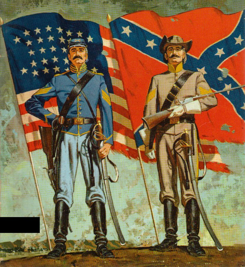 the background of the conflicts between the north and south that led to the american civil war The american war of independence: the rebels and  years war was known in north  and her american colonies - which eventually led to.