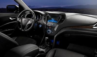 Interior de Hyundai Santa Fe - coches y motos 10