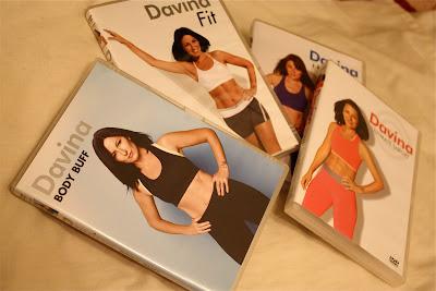 Davina McCall Fitness DVDs