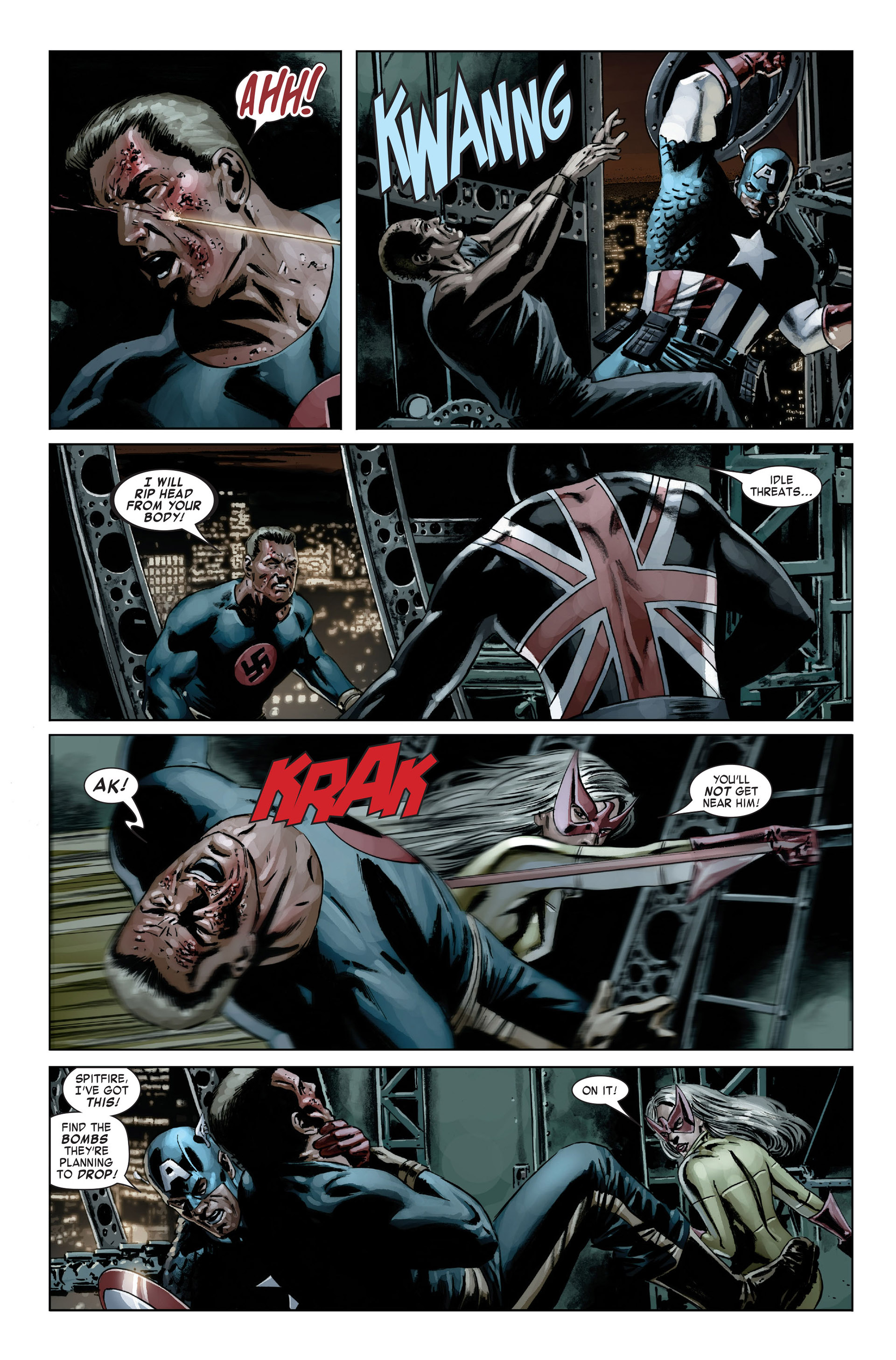 Captain America (2005) Issue #20 #20 - English 14