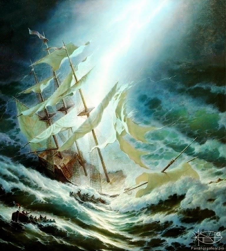 barcos-de-vela-cuadros-al-oleo