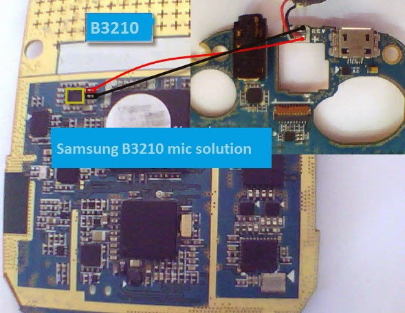 Samsung B3210 mic problem solution-gsmhoster