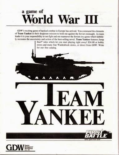 SOUND OFFICERS CALL!: GDW Team Yankee: First Blood / First Battle AAR