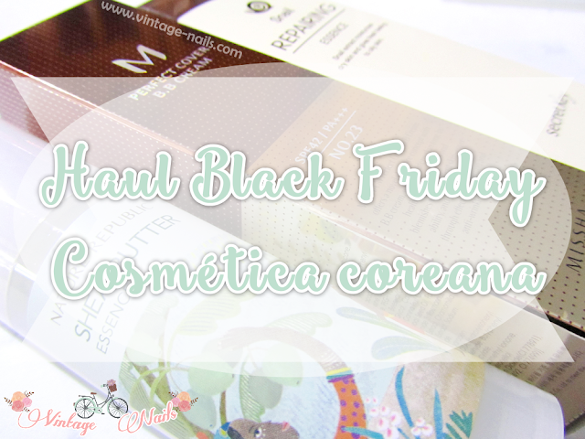 haul, black friday, cosmetica coreana, korean cosmetics