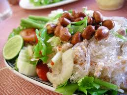 Glass Noodle,Pork,Nut Spicy Salad (Yum Woon Sen ...