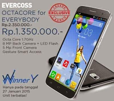Evercoss Winner Y A76