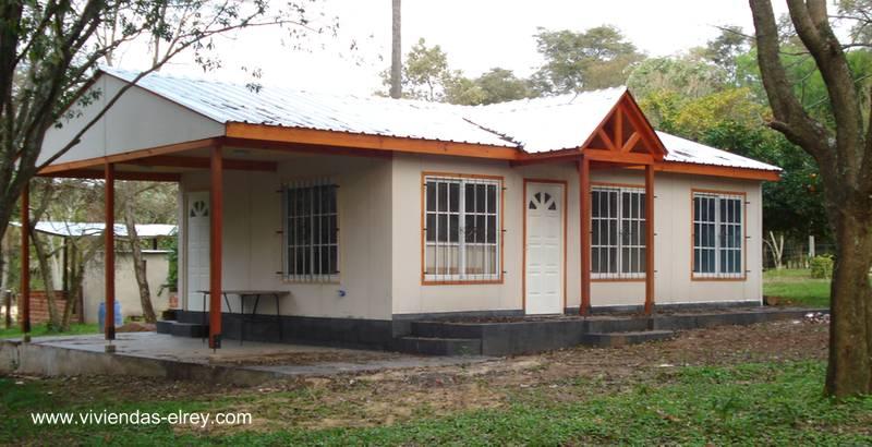 Arquitectura de casas viviendas prefabricadas producidas - Modelos casa prefabricadas ...