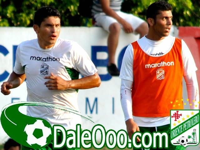 Oriente Petrolero - Jorge Ortiz - Yasmani Duk - Clásico Cruceño - DaleOoo.com web del Club Oriente Petrolero