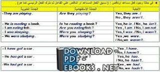 تحميل كتاب أساسيات اللغة الإنجليزية PDF