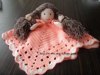 puppet crochet baby blanket