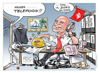 digitale cartoonist karikaturist cartoonist