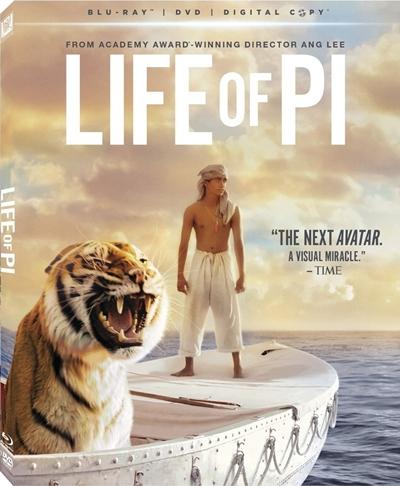 La vida de Pi 720p HD Español Latino Dual