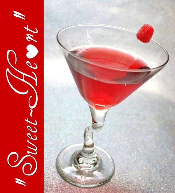 Sweet Heart Valentine's Day Cocktail by Celebrations at Home