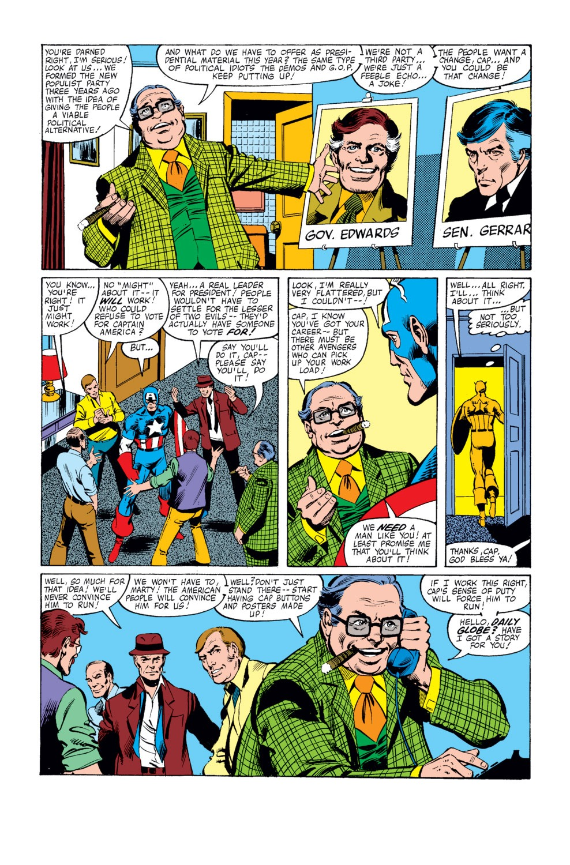 Captain America (1968) Issue #250 #165 - English 6