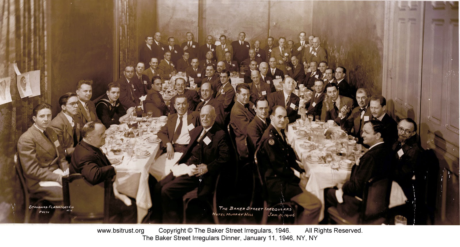 The 1946 BSI Dinner group photo