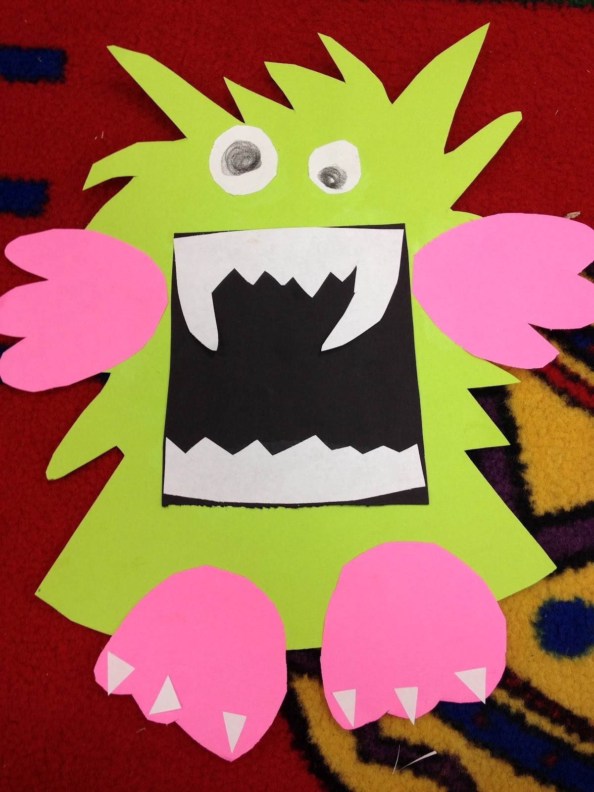 mrs  ayala u0026 39 s kinder fun  m is for monster