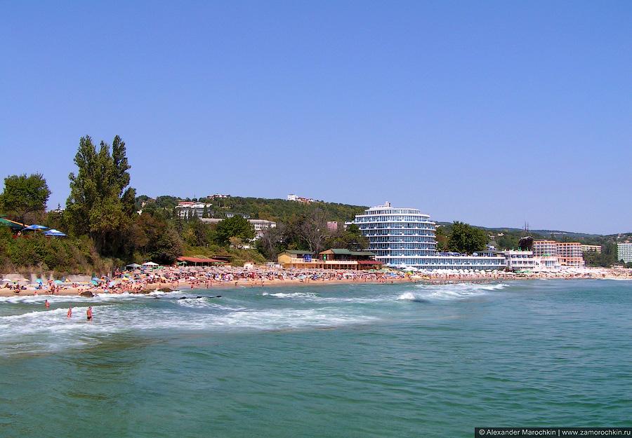 Пляж у отеля Сириус Бич, Св. св. Константин и Елена, Болгария
