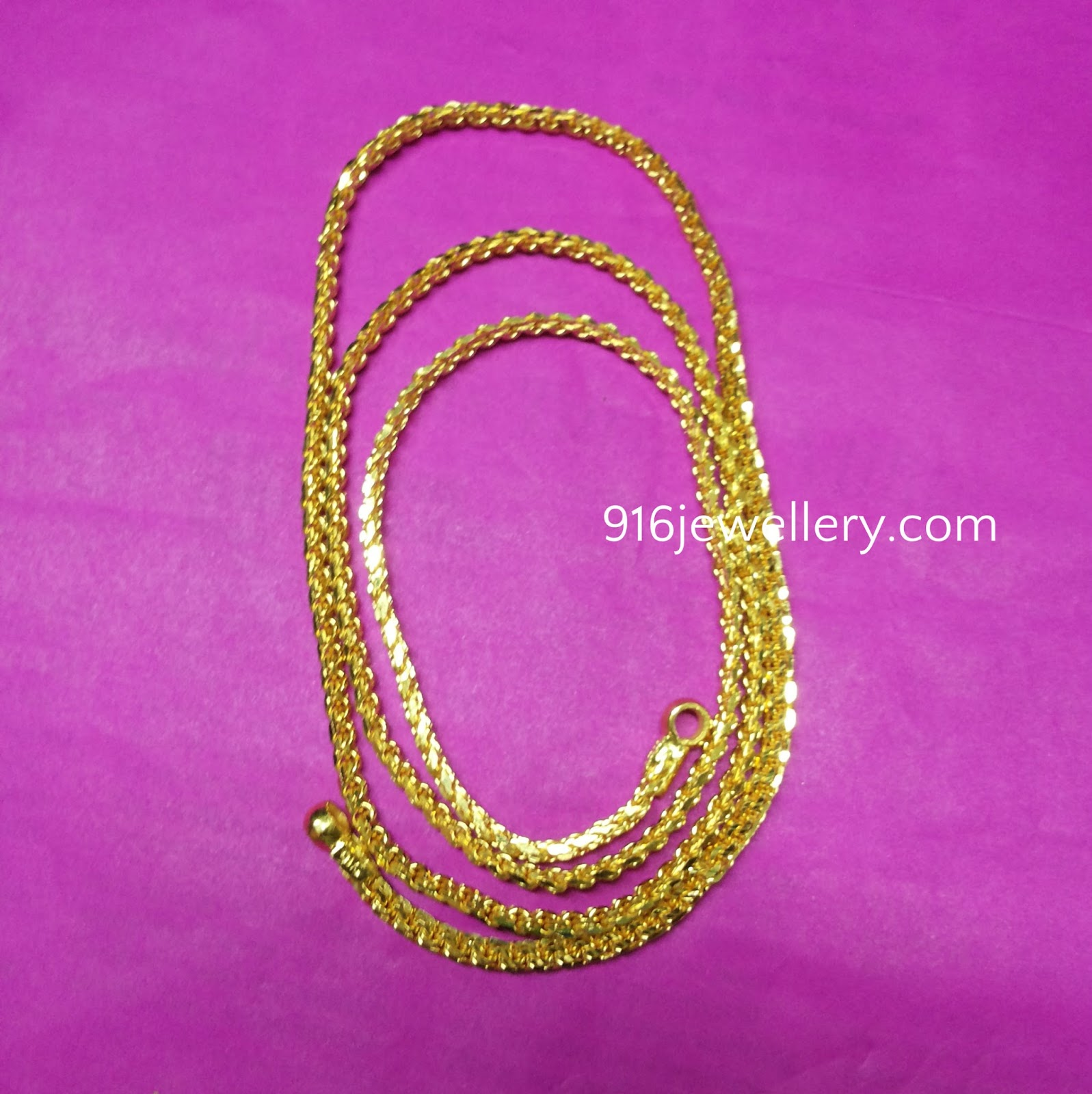 916 jewellery ||Chains: Gold Chains Designs - Model basha ...