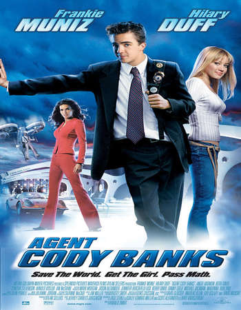 Poster Of Agent Cody Banks 2003 Dual Audio 720p  [Hindi - English]  Free Download Watch Online Worldfree4u