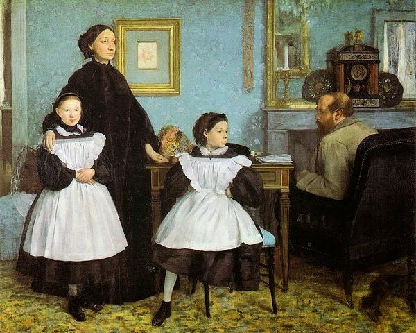 Edgar Degas The Bellelli Family