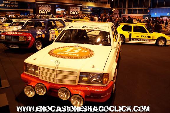 Mercedes 190 Madrid Motor Days