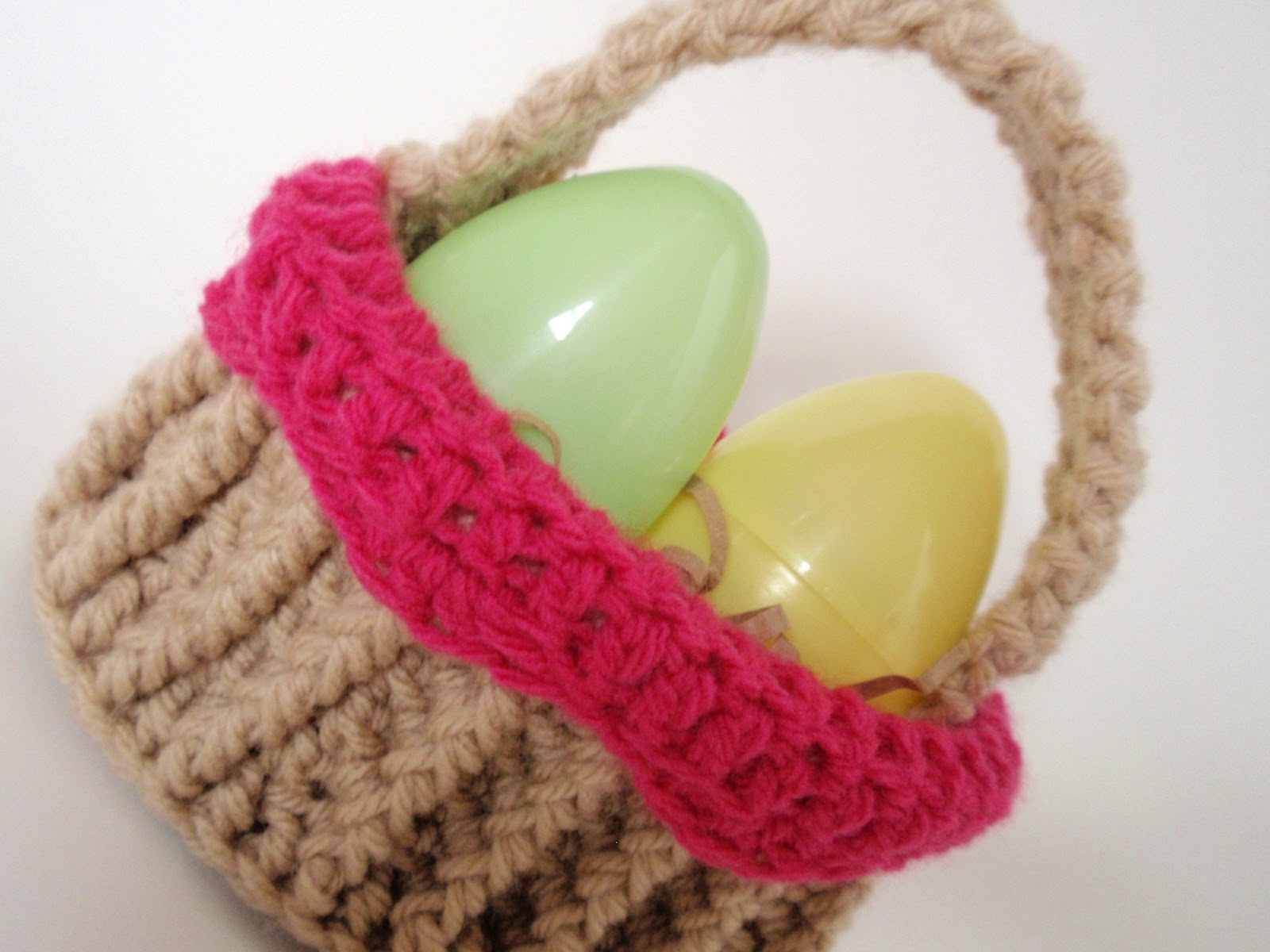 Crochet Easter Basket : Easter basket Easter Crochet Pinterest